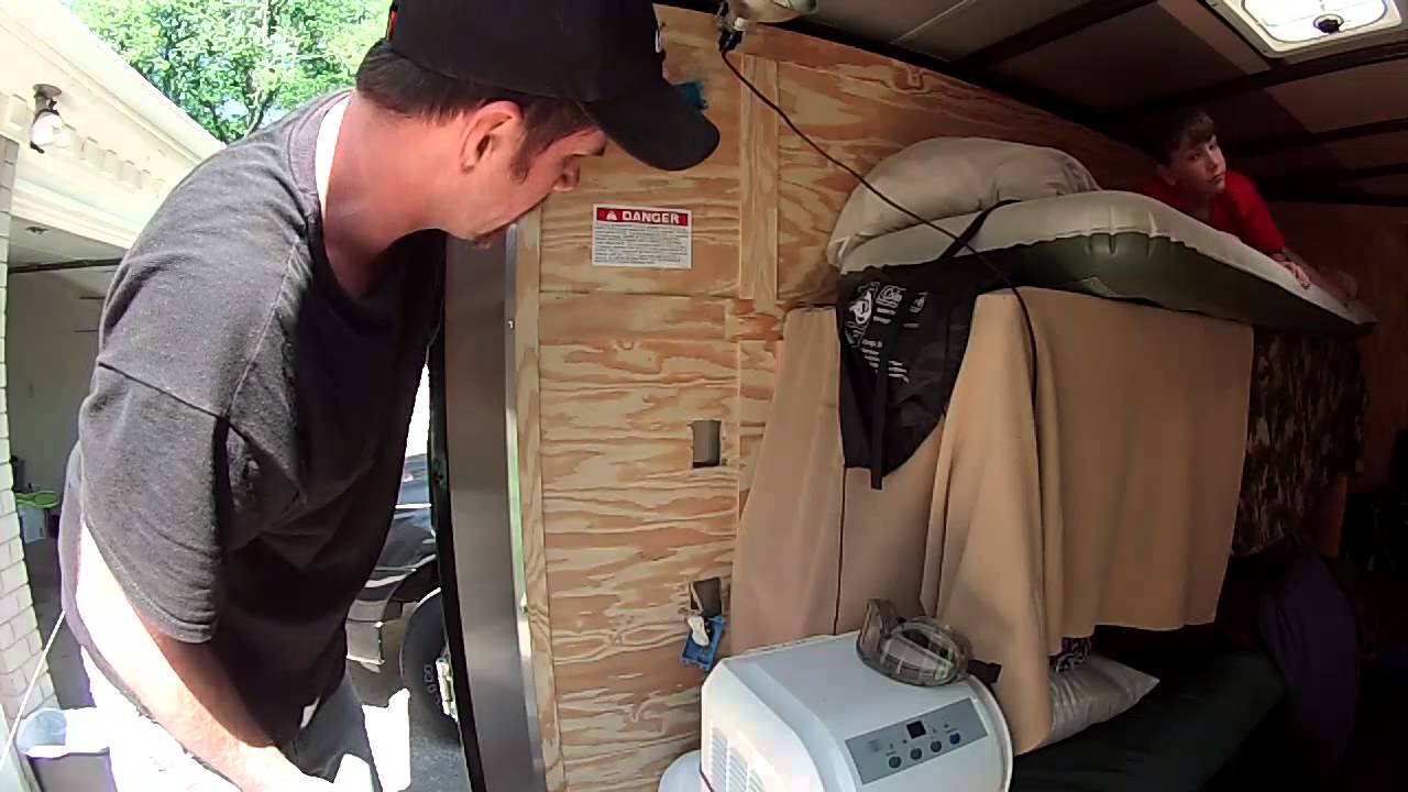 110V Electrical Wiring . 6X10 Enclosed Trailer Conversion - Enclosed Trailer 110V Wiring Diagram