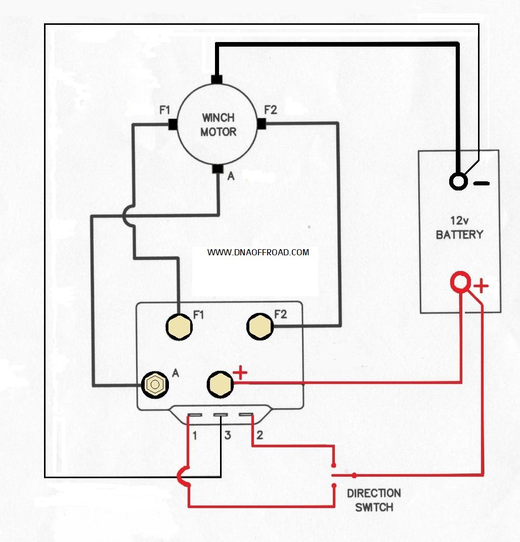 12 Volt Dc Motor Wiring Diagram For Winch | Wiring Diagram - 12 Volt Trailer Wiring Diagram