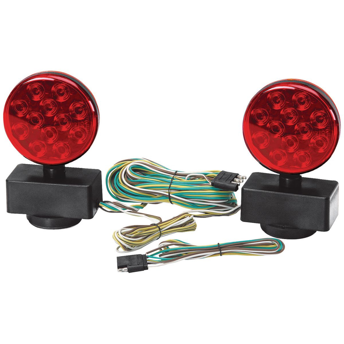 12 Volt Magnetic Led Towing Light Kit - Harbor Freight Trailer Light Kit Wiring Diagram