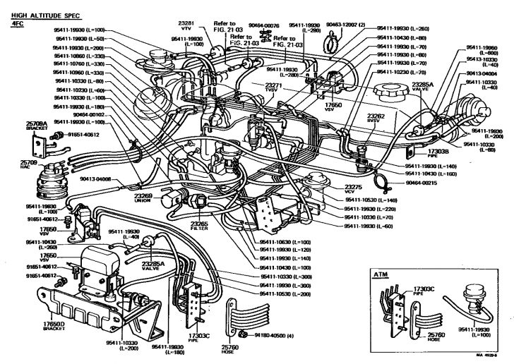 2001 toyota tundra parts diagram wiring schematic