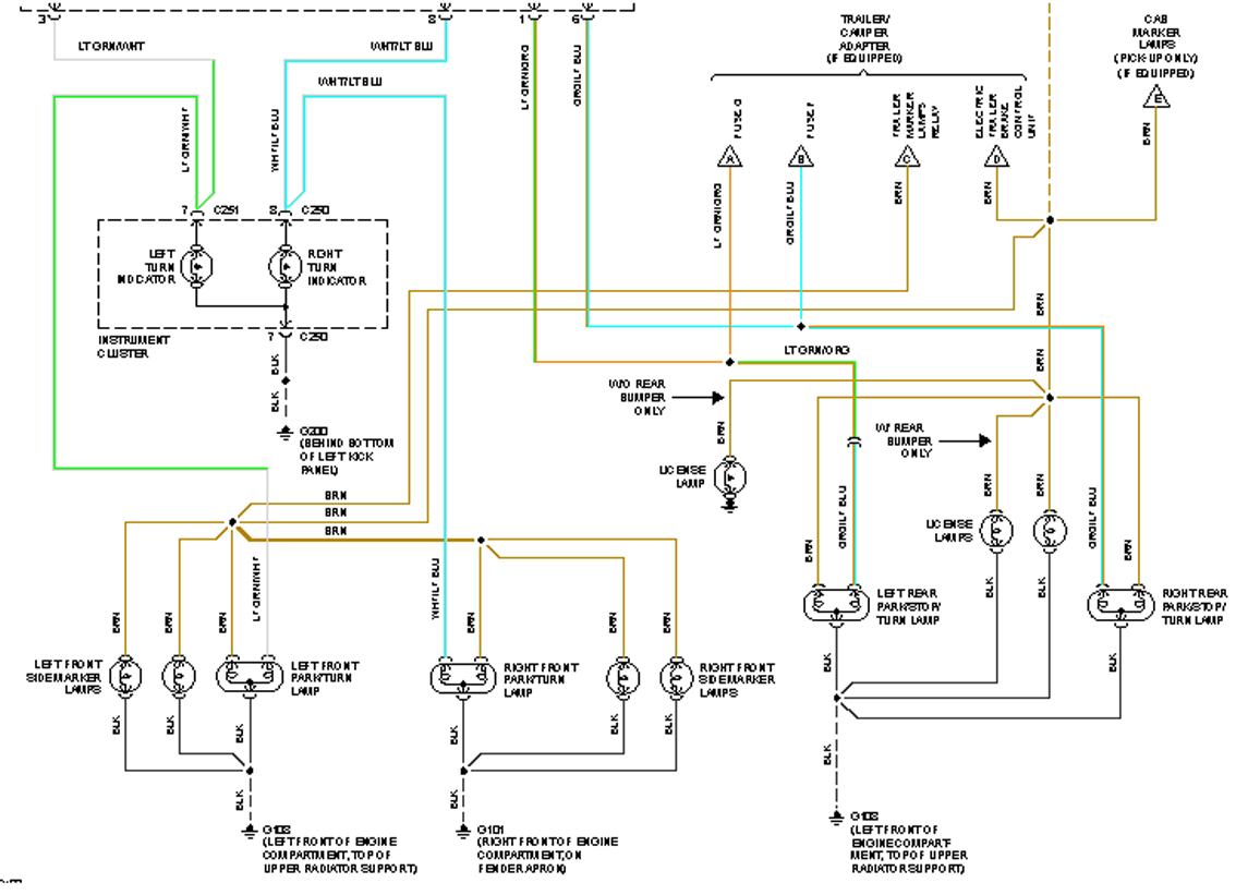 1995 Ford F 150 Trailer Wiring | Wiring Diagram - Trailer Wiring Diagram For Ford F150