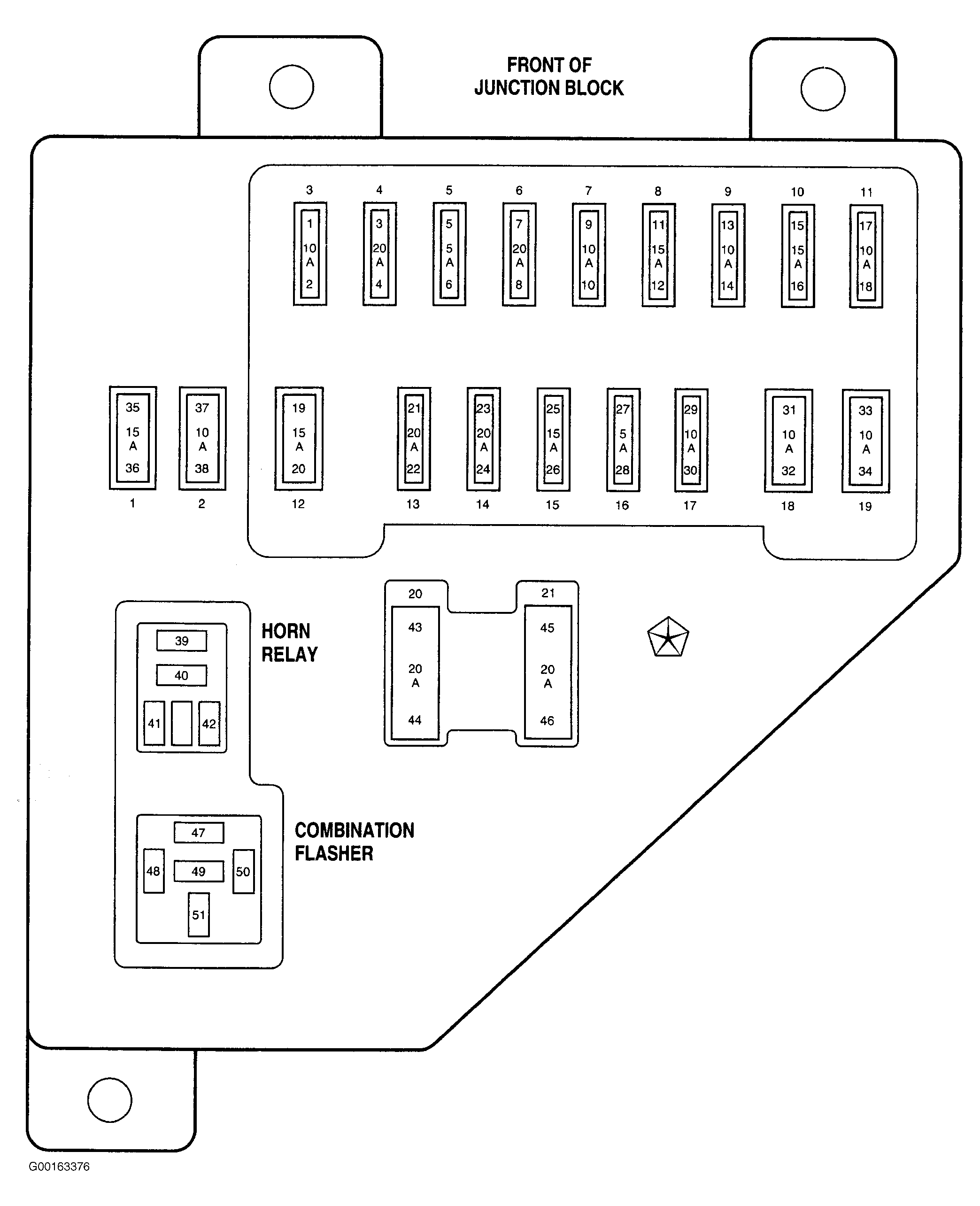 1998 Dodge Ram Fuse Diagram - Data Wiring Diagram Today - 1998 Dodge Ram Trailer Wiring Diagram