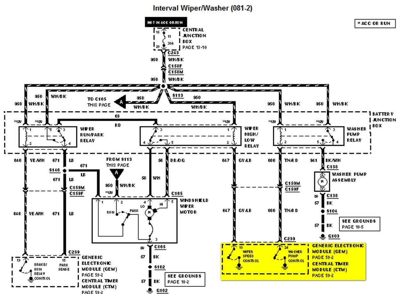 99 F150 Trailer Wiring Diagram