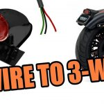 2 Wire Tailight To 3 Wire Motorcycle   Hd Sportster   Youtube   3 Wire Trailer Breakaway Switch Wiring Diagram