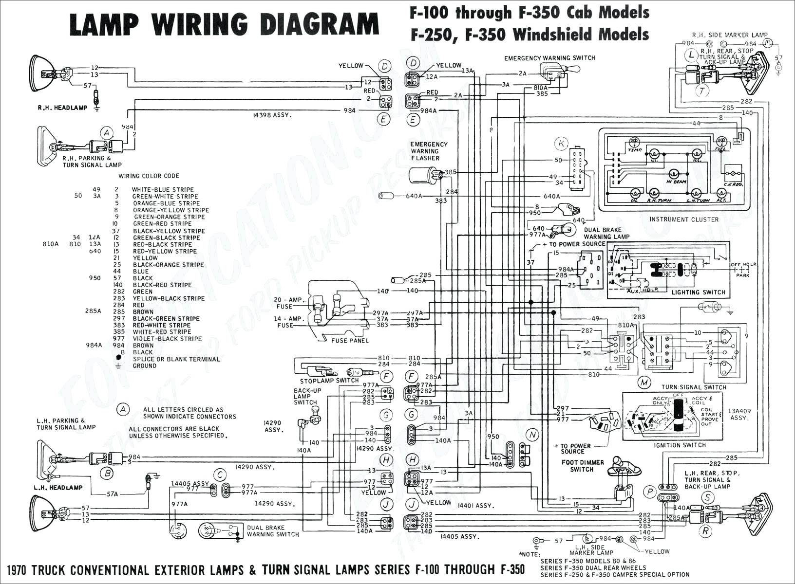 2001 Ford F350 Wiring Schematic - Wiring Diagrams Thumbs - Trailer Wiring Diagram Ford