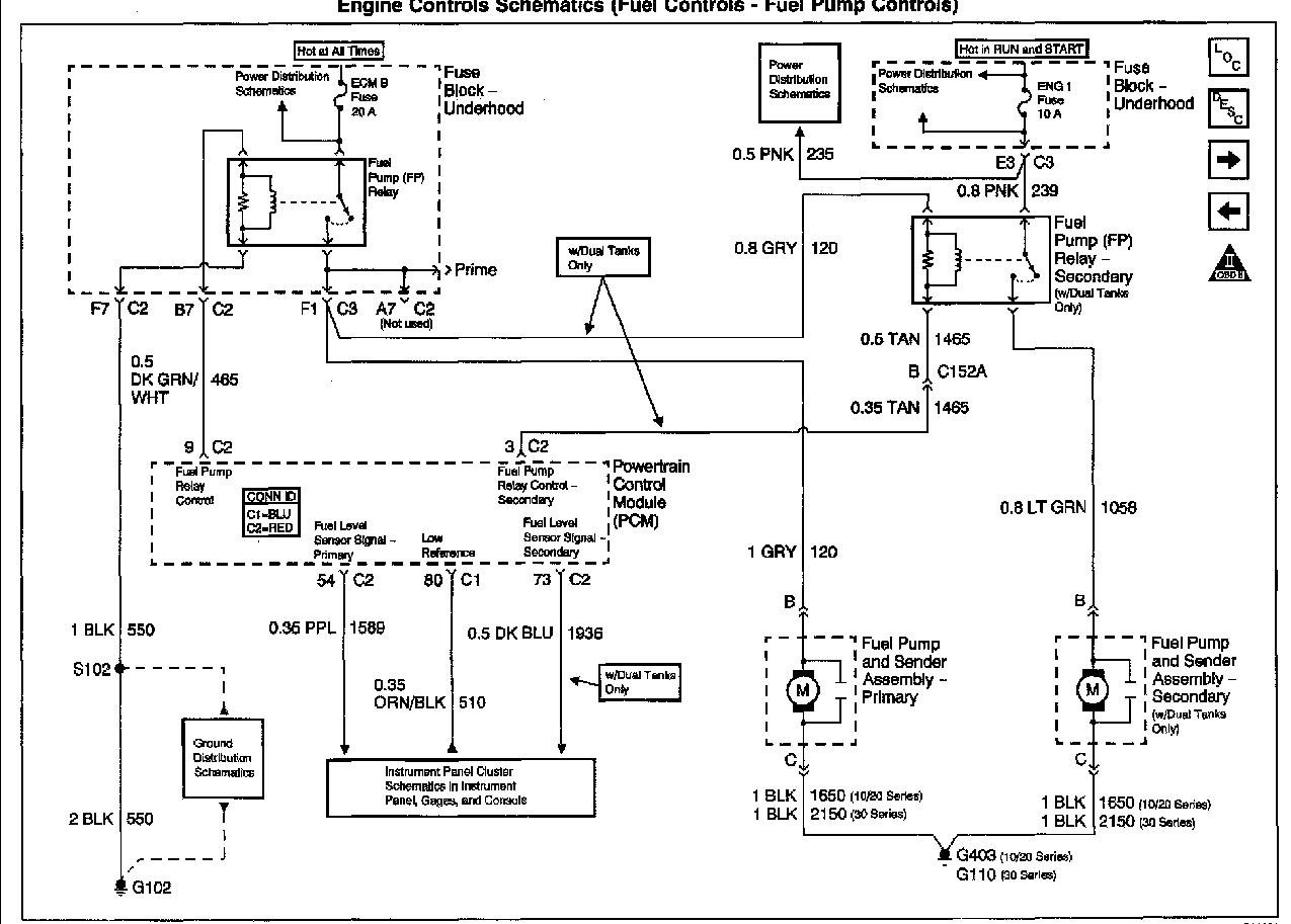 2001 Yukon Trailer Wiring Diagram