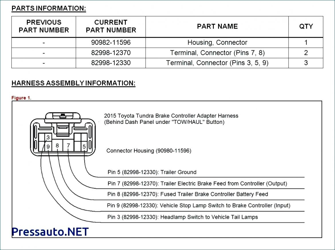 2003 Toyota Tundra Trailer Wiring Harness Diagram