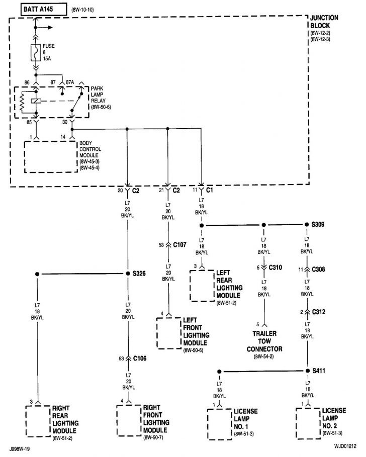 Jeep Xj Trailer Wiring Diagram