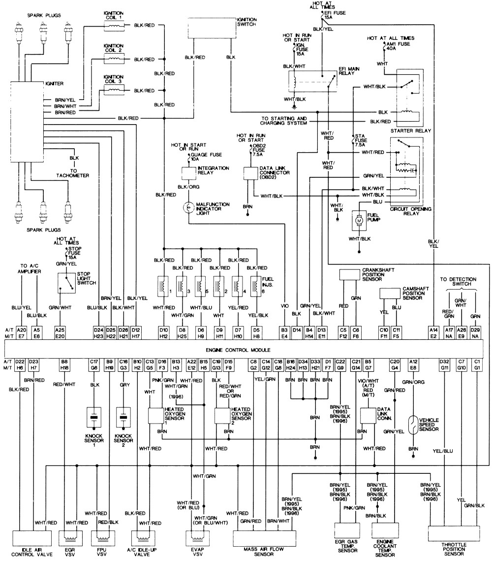 2005 Tacoma Wiring Diagram - Wiring Diagram Explained - 05 Tacoma Trailer Wiring Diagram