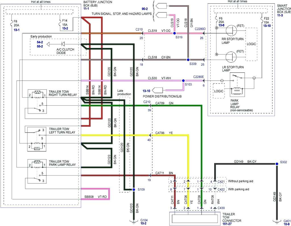 2006 Ford Escape Trailer Wiring | Wiring Diagram - 2004 Ford F250 Trailer Wiring Diagram