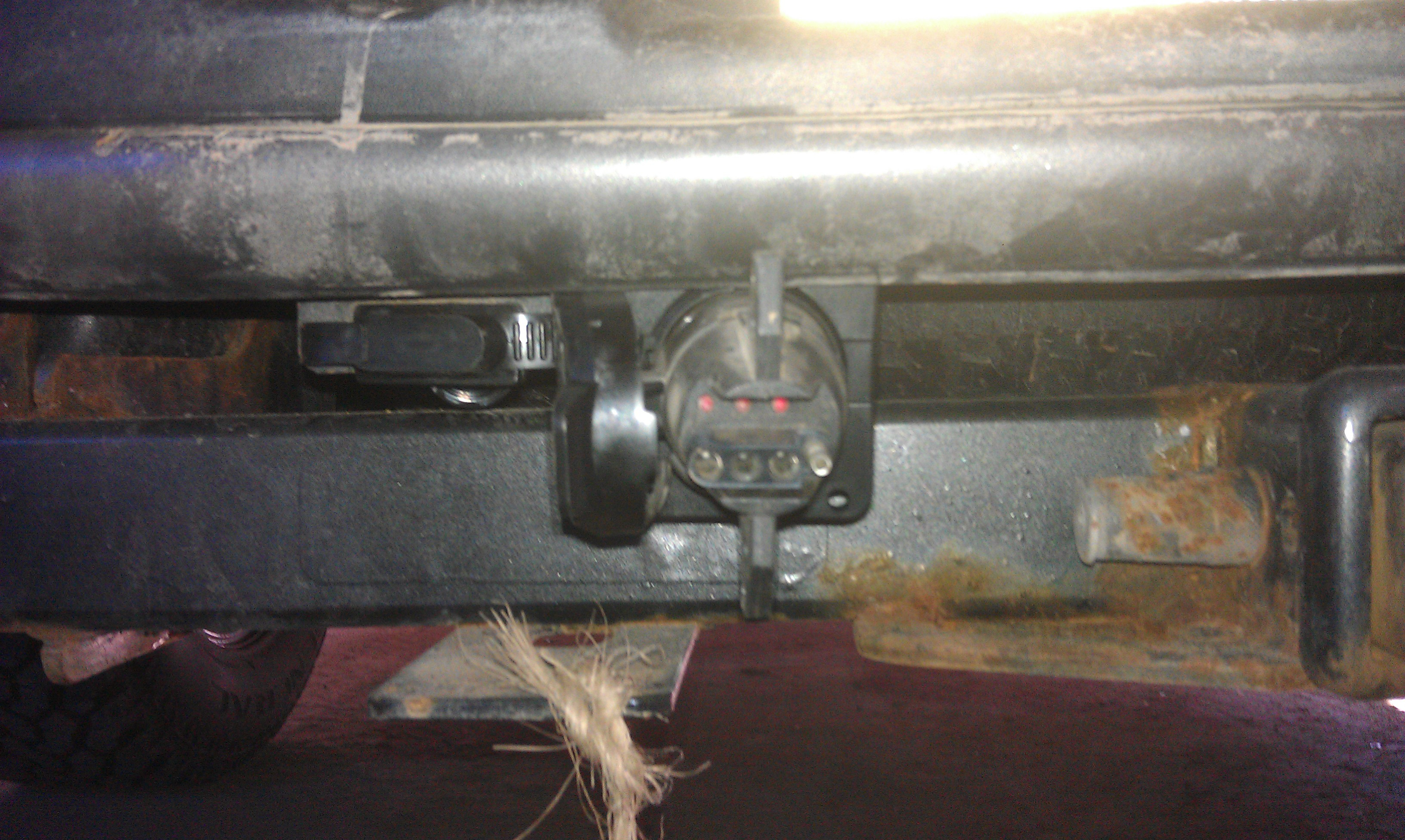 2007 F150 Quick Trailer Wiring Install - F150Online Forums - Ford F 150 Trailer Hitch Wiring Diagram