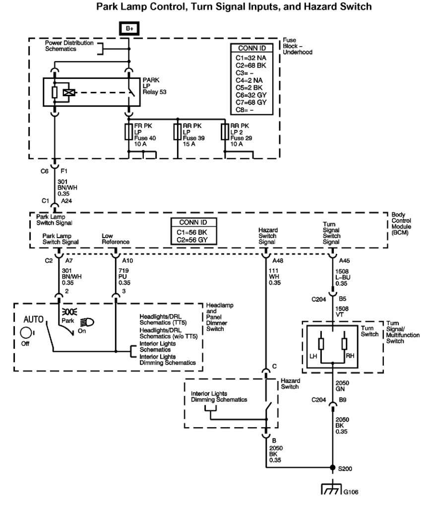 1985 gmc wiring diagram 2006 chevy trailblazer trailer wiring diagram | trailer ... #12