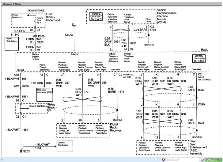 2005 Chevy Trailer Wiring Diagram