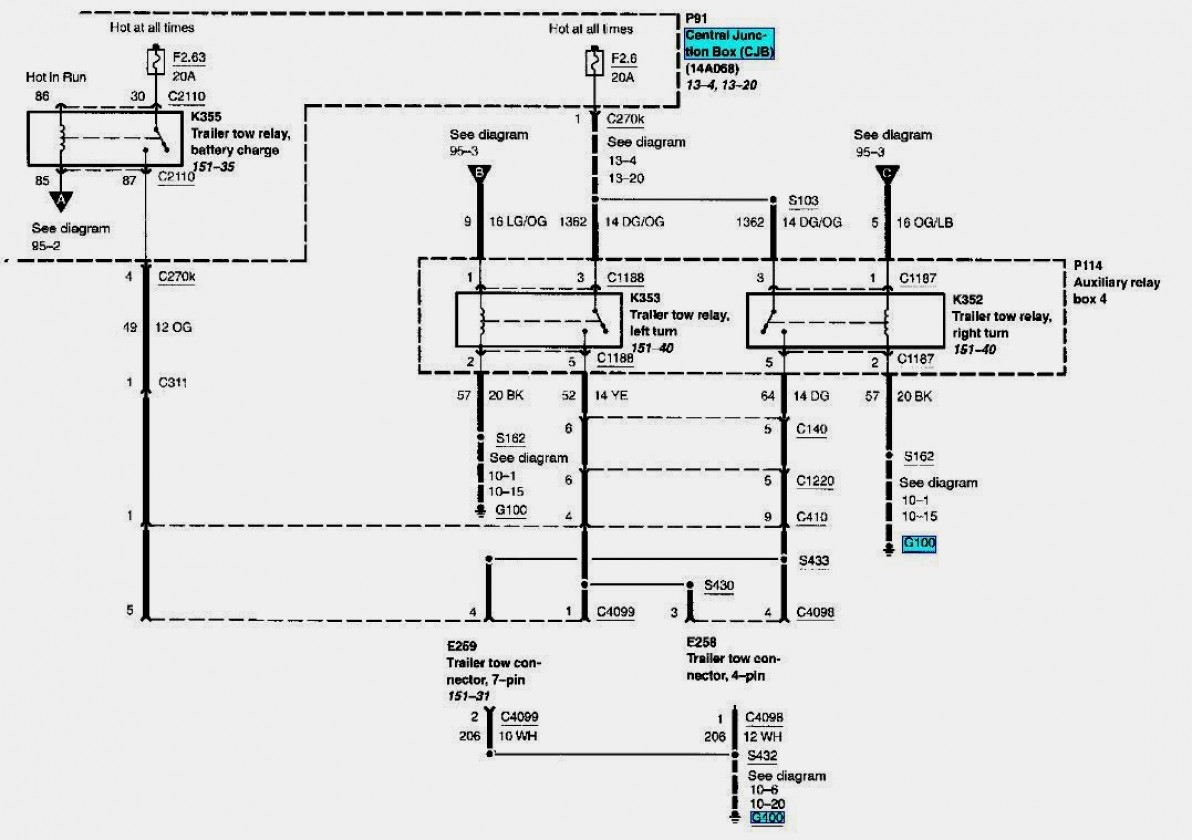 2012 Ford F350 Trailer Wiring Harness | Wiring Diagram - Ford F350 Trailer Wiring Diagram