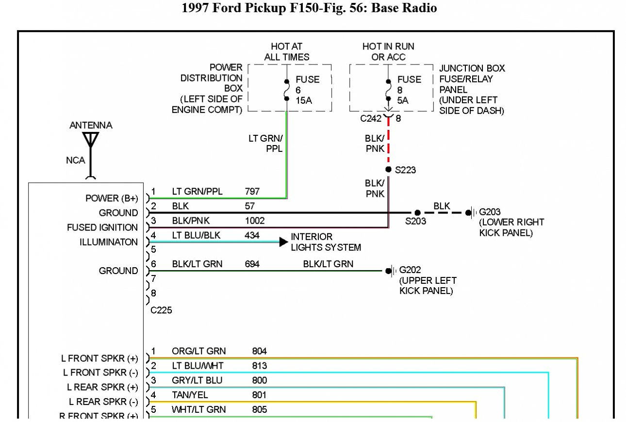 2013 Ford F 150 Radio Wiring Diagram - Wiring Diagram Name - F150 Trailer Wiring Diagram