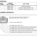 2013 Tacoma Trailer Wiring Harness Oem   Data Wiring Diagram Today   Toyota Trailer Wiring Diagram