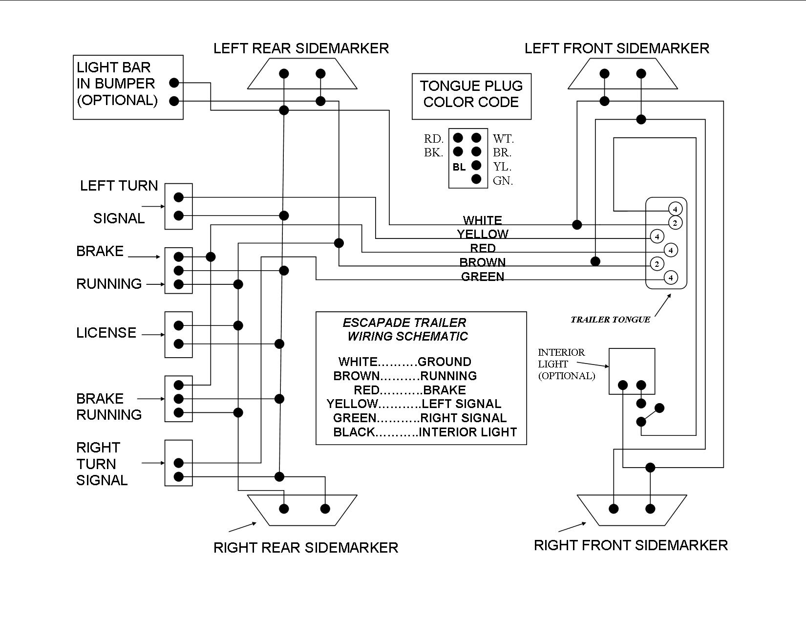 2015 Gl1800 Wiring Diagram - Wiring Diagrams Click - Gl1500 Trailer Wiring Diagram