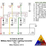 24V Military Trailer Wiring Diagram   Data Wiring Diagram Site   Military Trailer Wiring Diagram