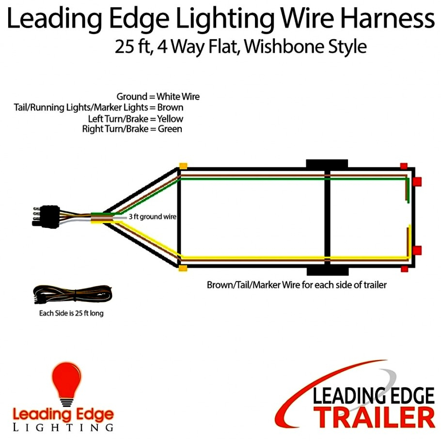 4 Way Wiring Diagram For Tail Light - Wiring Diagrams Schematic - Trailer 4 Pin Wiring Diagram