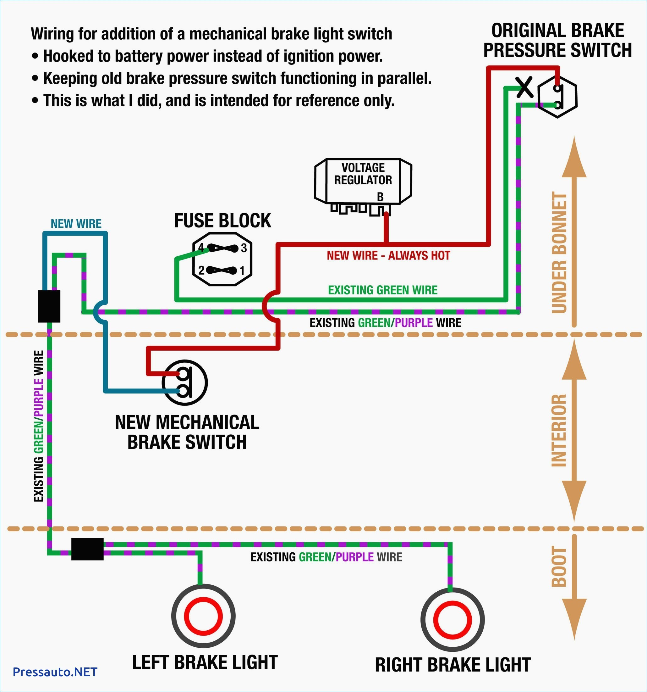 4 Wire Trailer Wiring Diagram Troubleshooting - Wellread - Four Wire Trailer Wiring Diagram