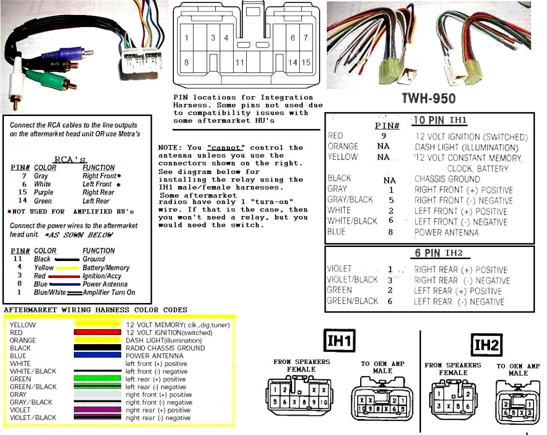 6 Pin 12 Volt Wire Harness | Wiring Diagram - 6 Pin Trailer Plug Wiring Diagram