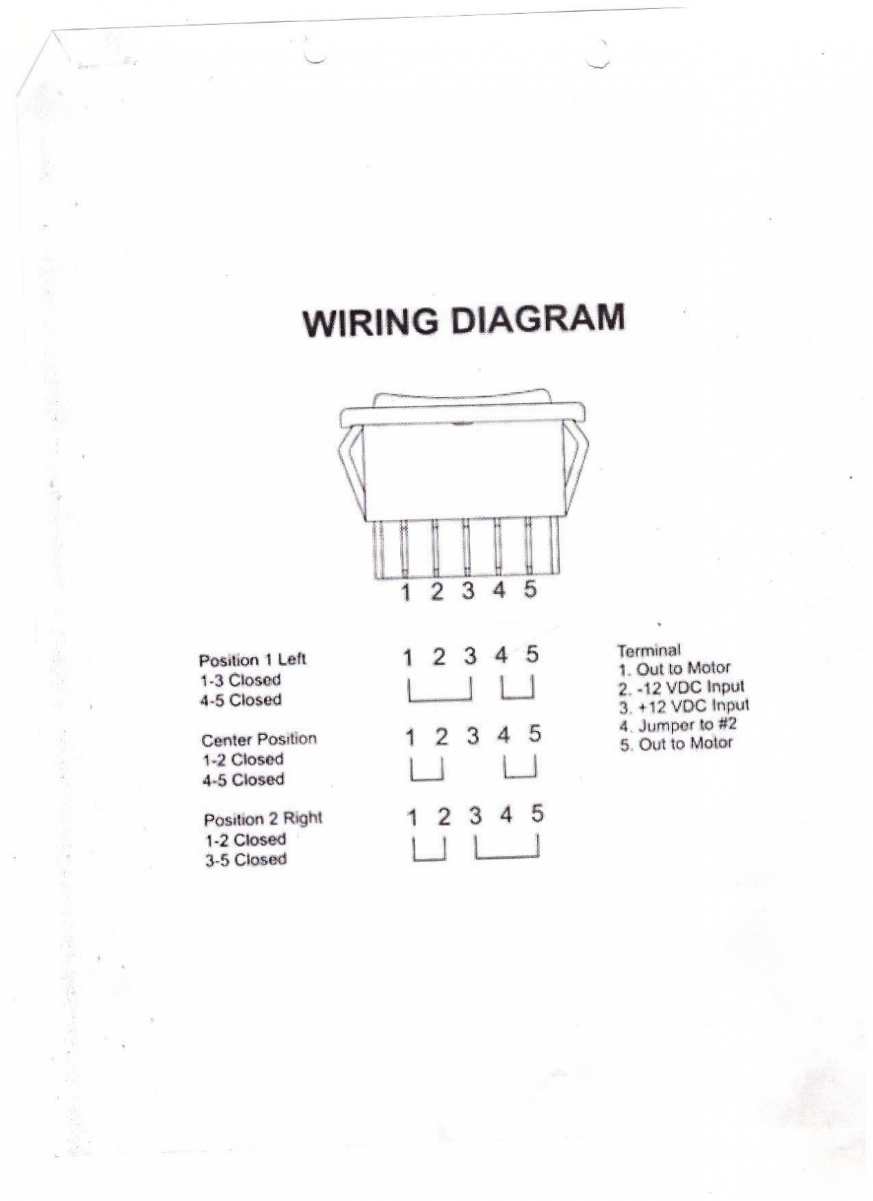 6 Pin Trailer Wiring Diagram – Unique 6 Pin Power Window Switch - Trailer Wiring Diagram 6 Pin