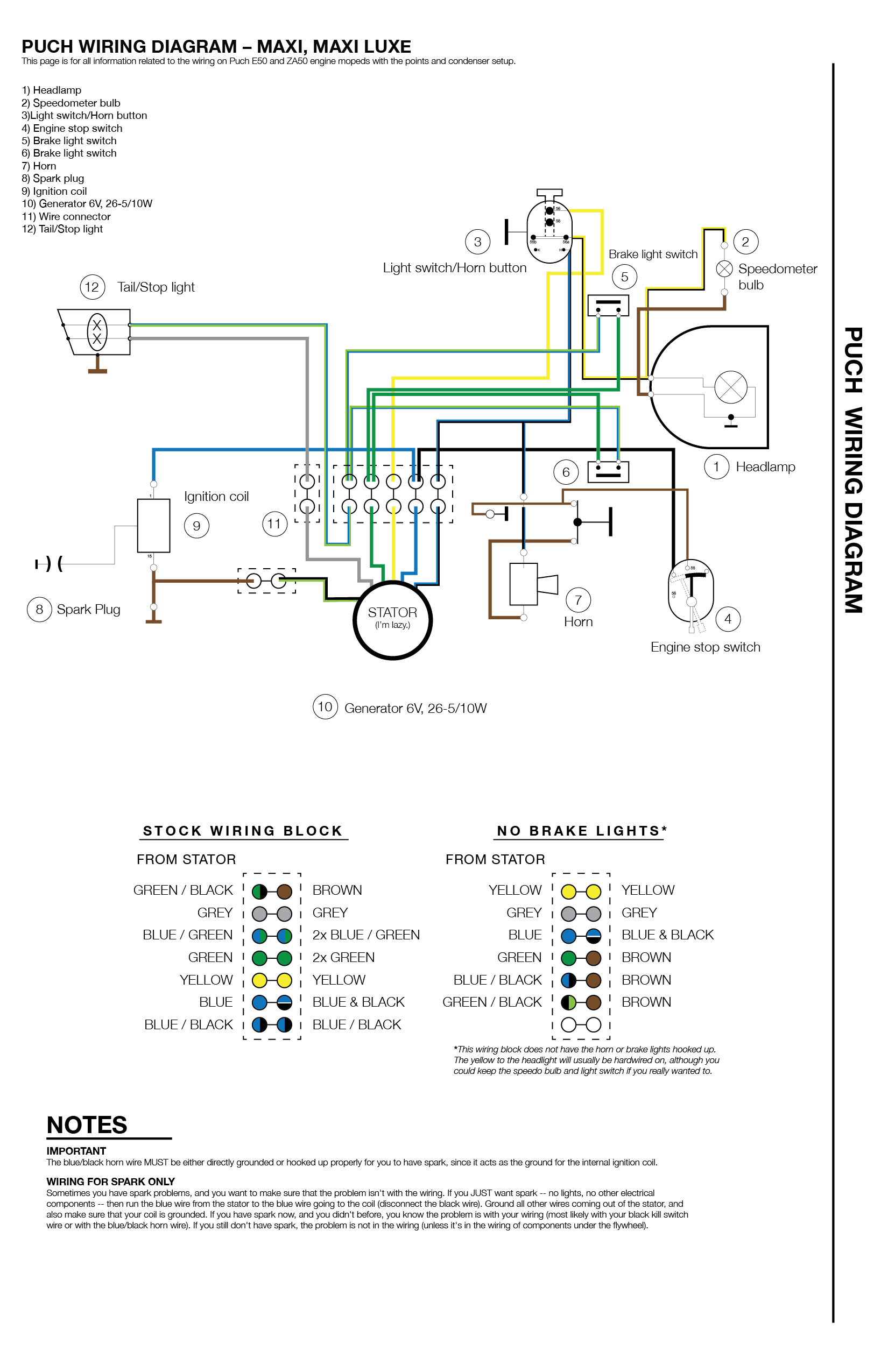 6 Pole Stator Wiring Diagram - Wiring Diagram Blog - 6 Wire Trailer Plug Wiring Diagram