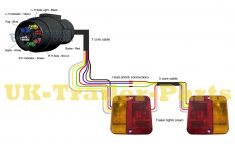 7 Pin 'n' Type Trailer Plug Wiring Diagram | Uk-Trailer-Parts – Trailer Lights Wiring Diagram 4 Pin