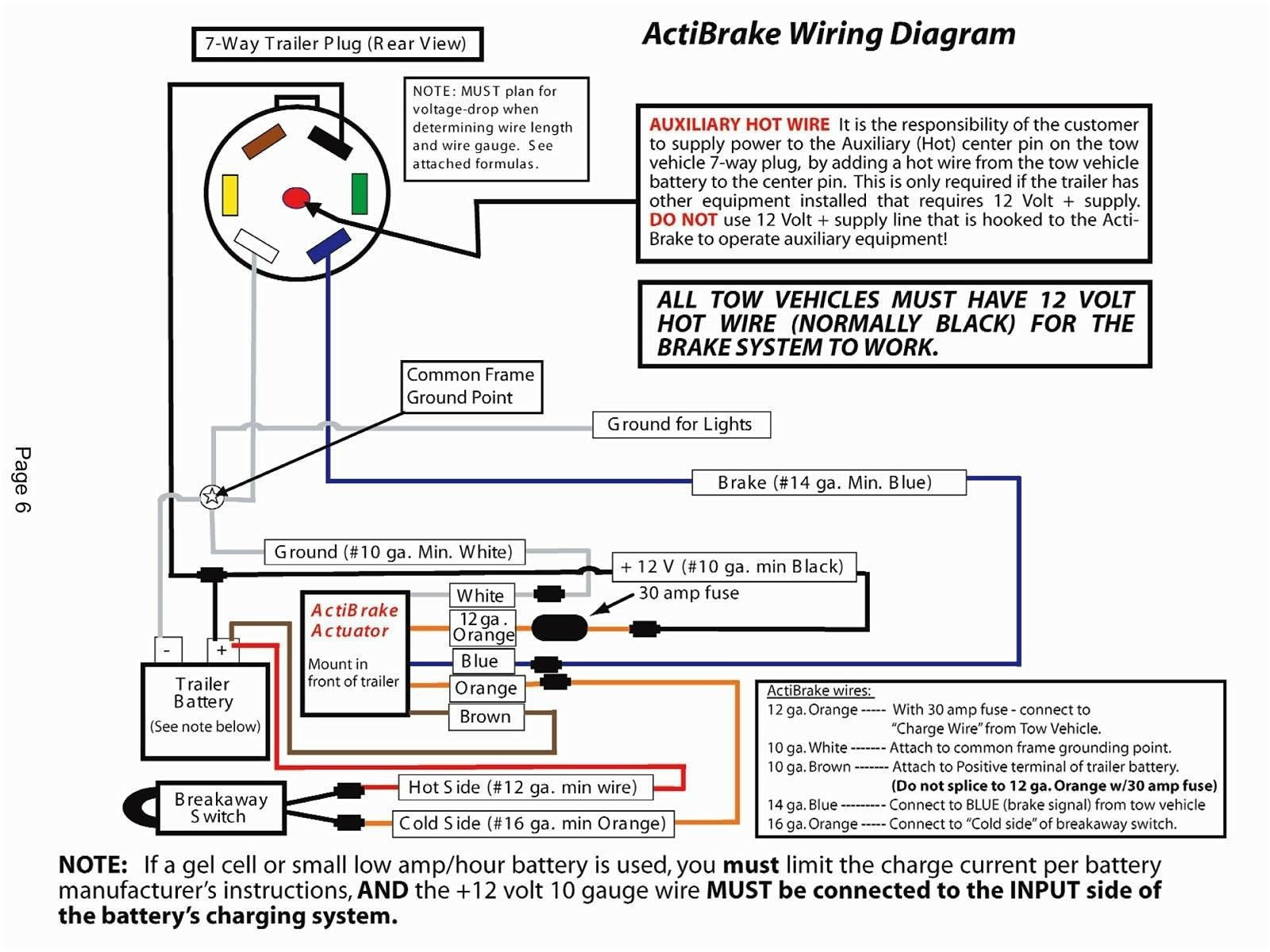 7 Pin Plug Wiring Diagram Fresh Wiring Diagram Trailer Plug - Wiring Diagram For Trailer Lights Australia