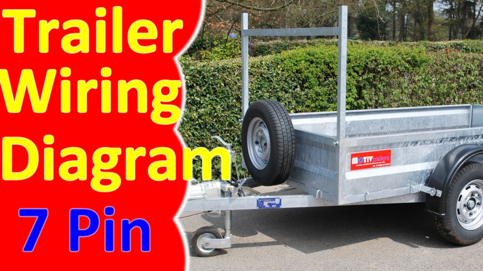 7 Pin Round Trailer Plug Wiring Diagram - Allove - Wiring Diagram For Trailer Lights Australia