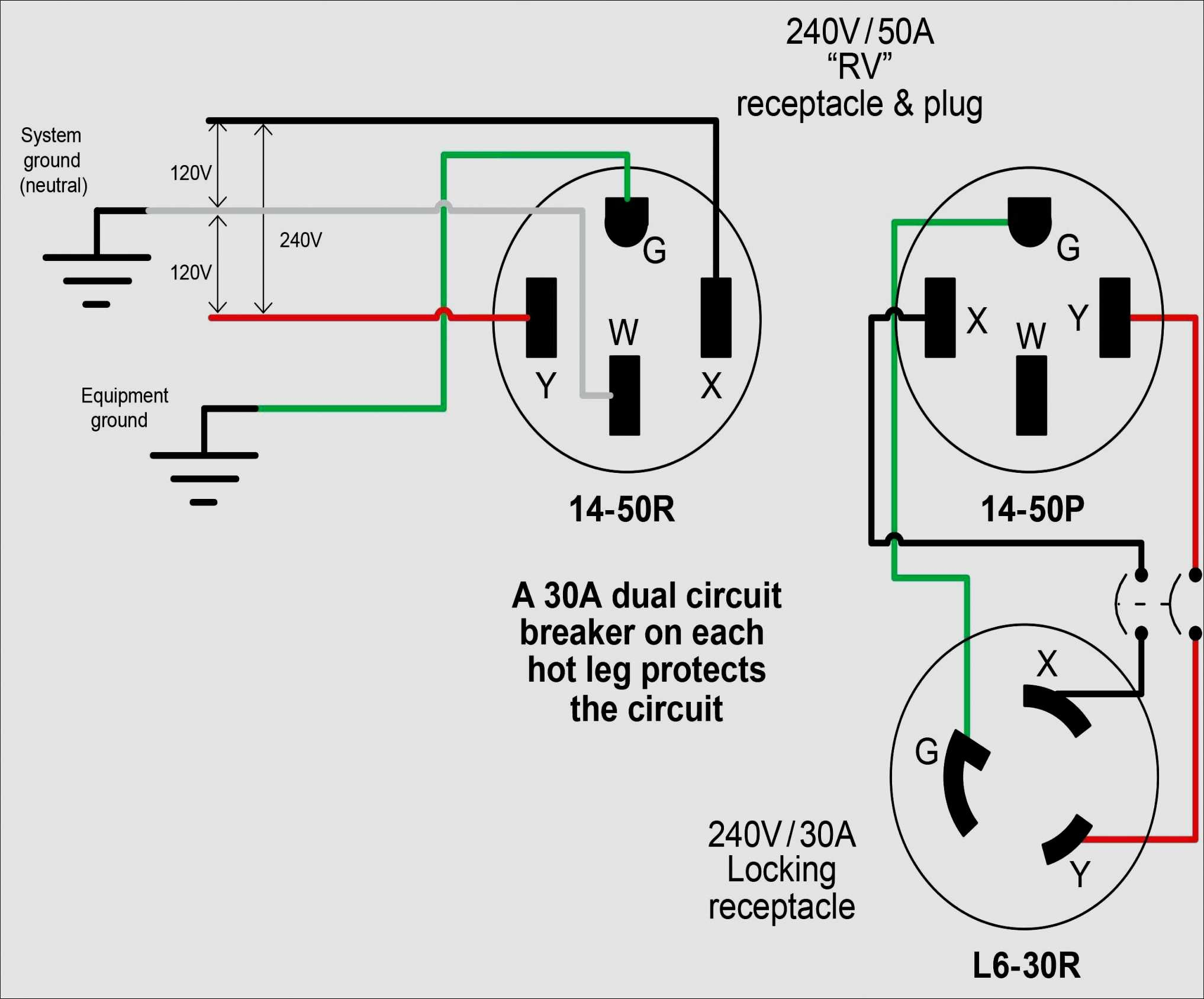 7 Pin Rv Trailer Connector Wiring Diagram - Wiring Diagrams - 7 Pin Rv Trailer Connector Wiring Diagram