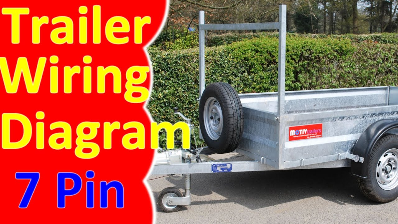 7 Pin Trailer Wiring Diagram Harness - Youtube - 7 Pin Car Trailer Wiring Diagram