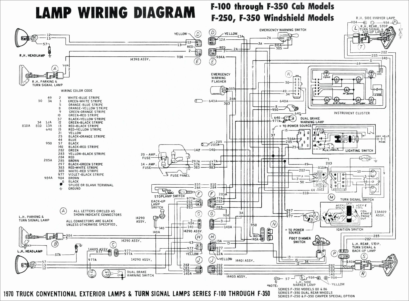 7 Pole Trailer Wiring Diagram - Wiring Diagrams Img - 7 Pole Trailer Wiring Diagram