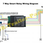 7 Way Universal Bypass Relay Wiring Diagram | Uk Trailer Parts   Trailer Wiring Diagram With Reverse Light