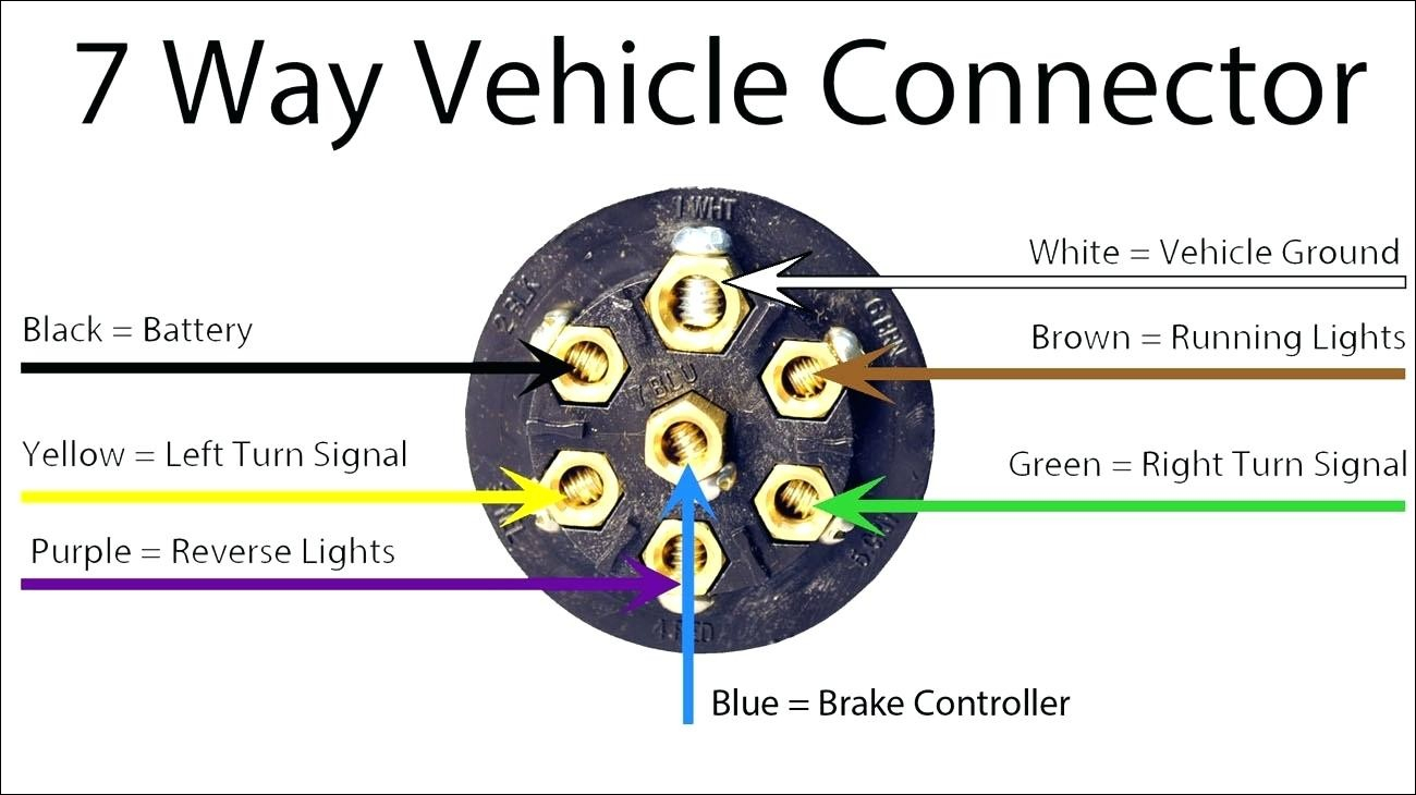 7 Wire Wiring Harness Diagram - Wiring Diagram Explained - Ford 7 Pin Trailer Connector Wiring Diagram
