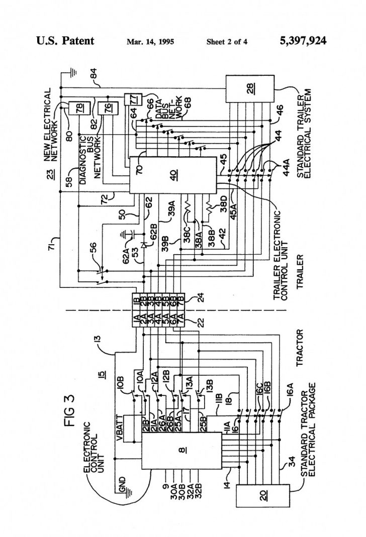 Semi Trailer Light Wiring Diagram
