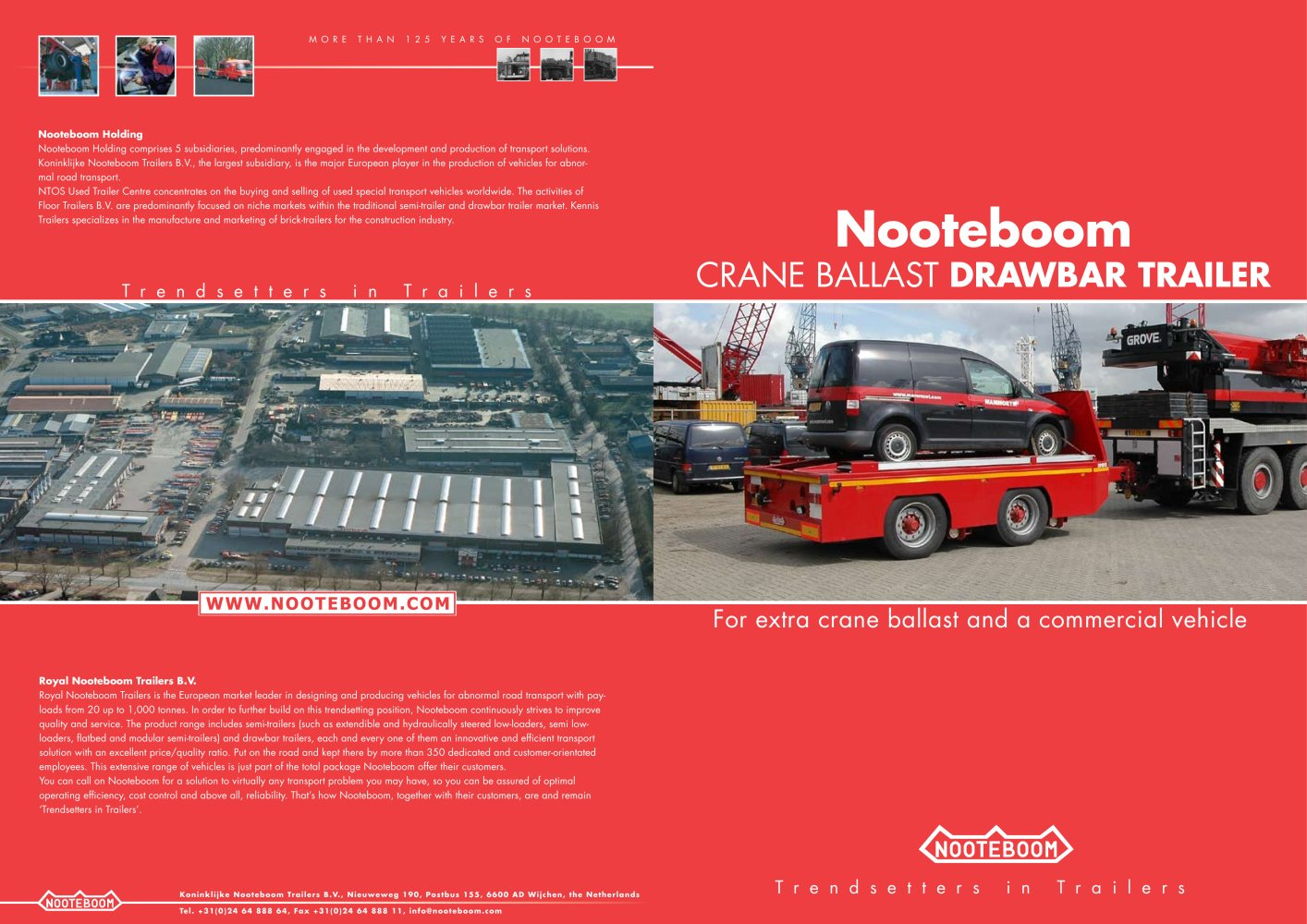 All Nooteboom Catalogs And Technical Brochures - Nooteboom Trailer Wiring Diagram