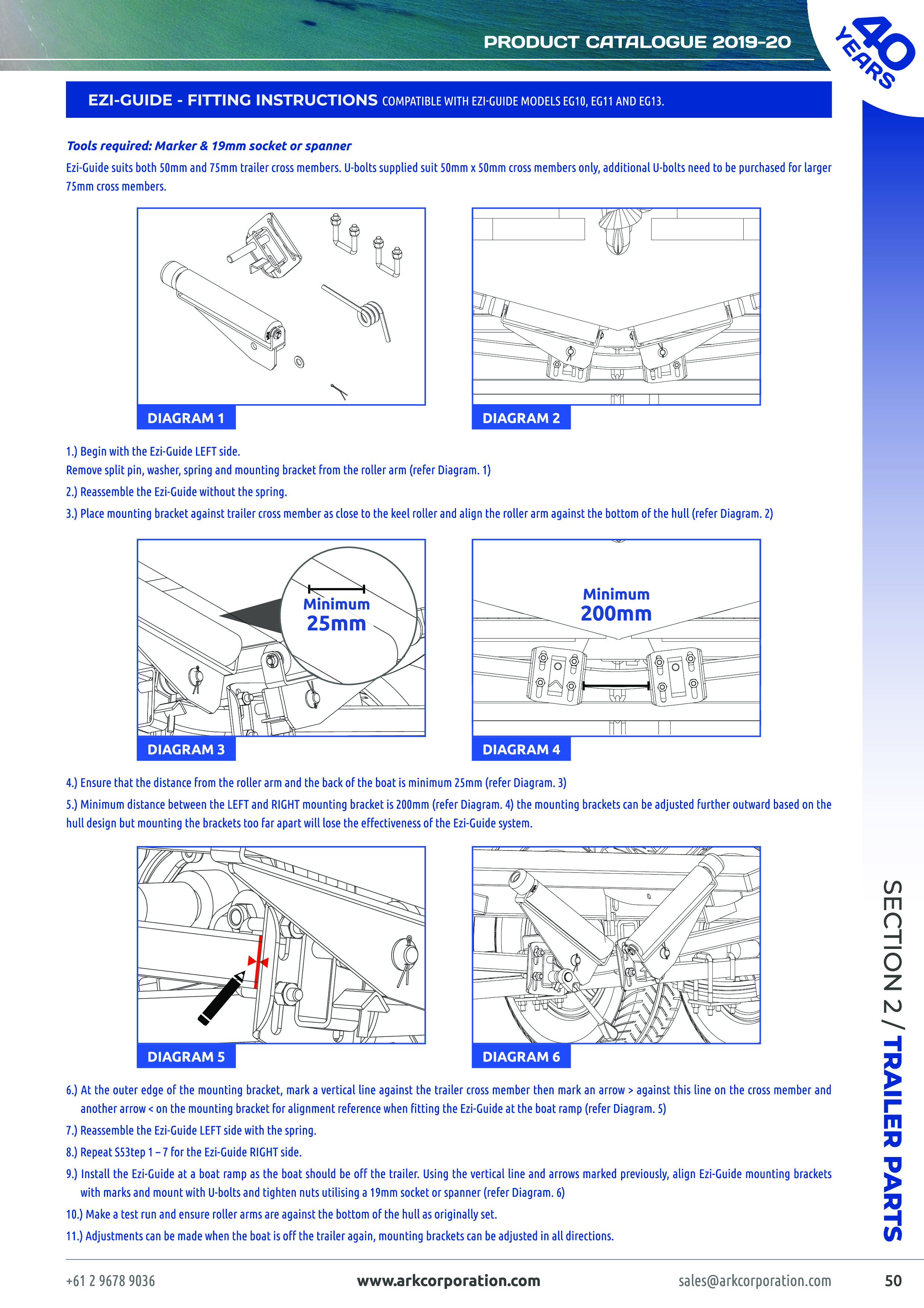 Ark 2019-20 Product Catalogue - Trailer Parts, Towing & 4Wd - Boat Trailer Wiring Diagram 5 Way