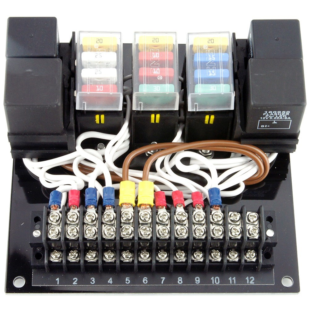 Automotive Fuse Junction Box | Wiring Diagram - Trailer Junction Box Wiring Diagram