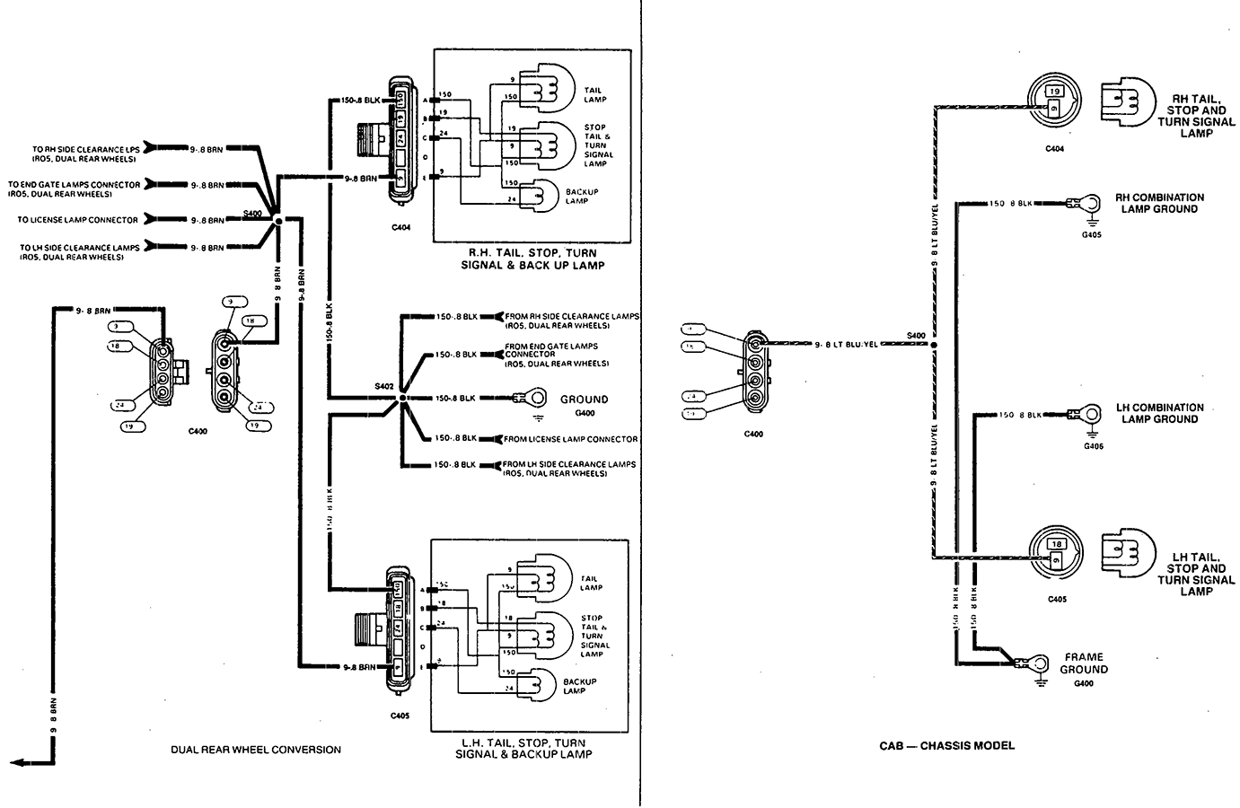 Backup Light Wiring Schematic - Wiring Diagram Data Oreo - Ford Trailer Light Wiring Diagram
