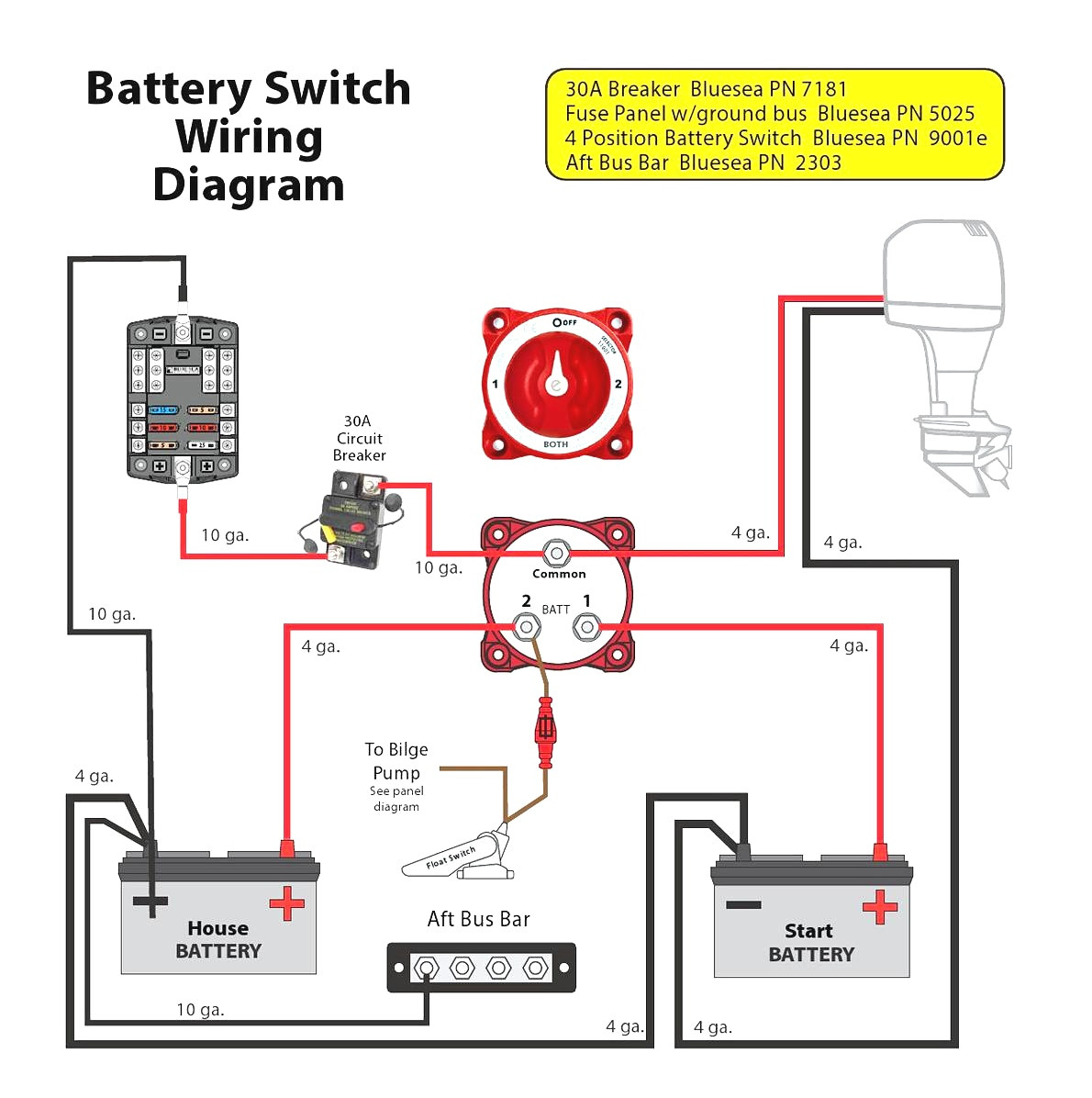 Battery Isolator Wiring Diagram For | Wiring Library - Trailer Wiring Diagram With Battery
