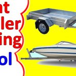 Boat Trailer Wiring Diagram 4 Pin   Youtube   Jet Ski Trailer Wiring Diagram