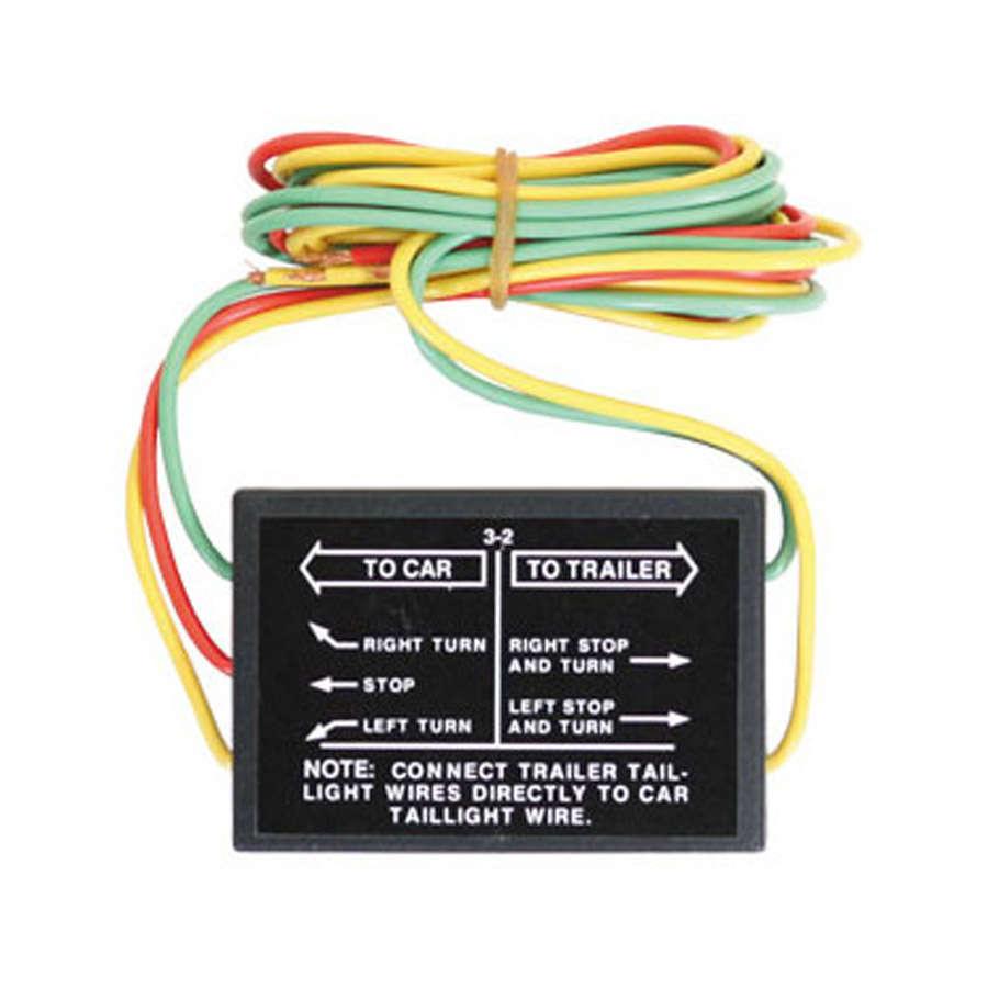 Buyers 5423203 Heavy-Duty (6 Amp) 3-2 Solid State Tail Light - Trailer Light Converter Wiring Diagram