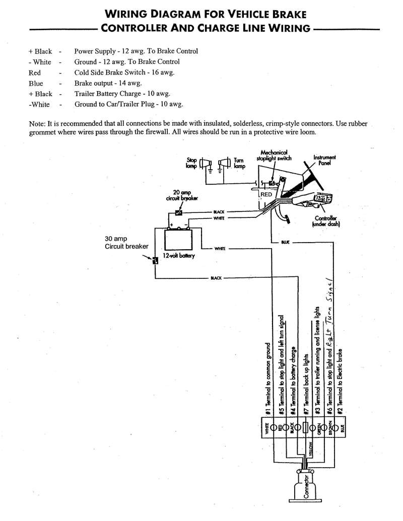 Casita Hitch And Brake Wiring Diagrams - The Casita Club Forum - The - Trailer Brake Wiring Diagram