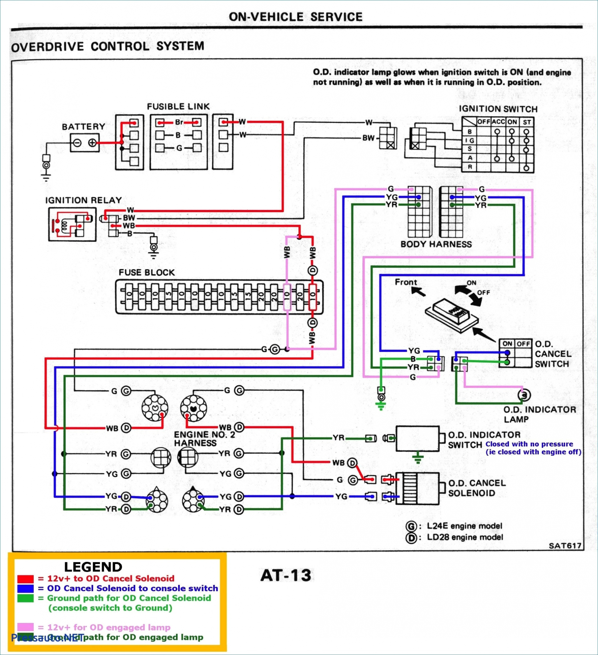 Chevy 7 Pin Trailer Wiring | Manual E-Books - Flat Trailer Wiring Diagram