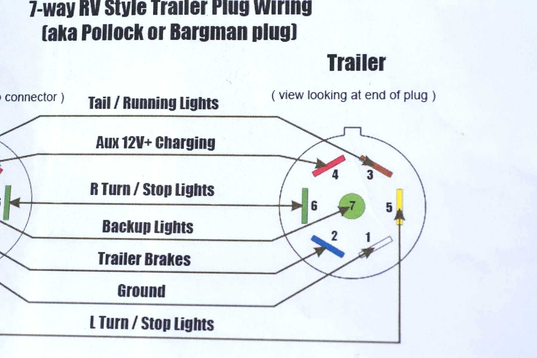 Chevy 7 Pin Wiring Diagram - Wiring Diagrams Click - 12 Pin Trailer Plug Wiring Diagram
