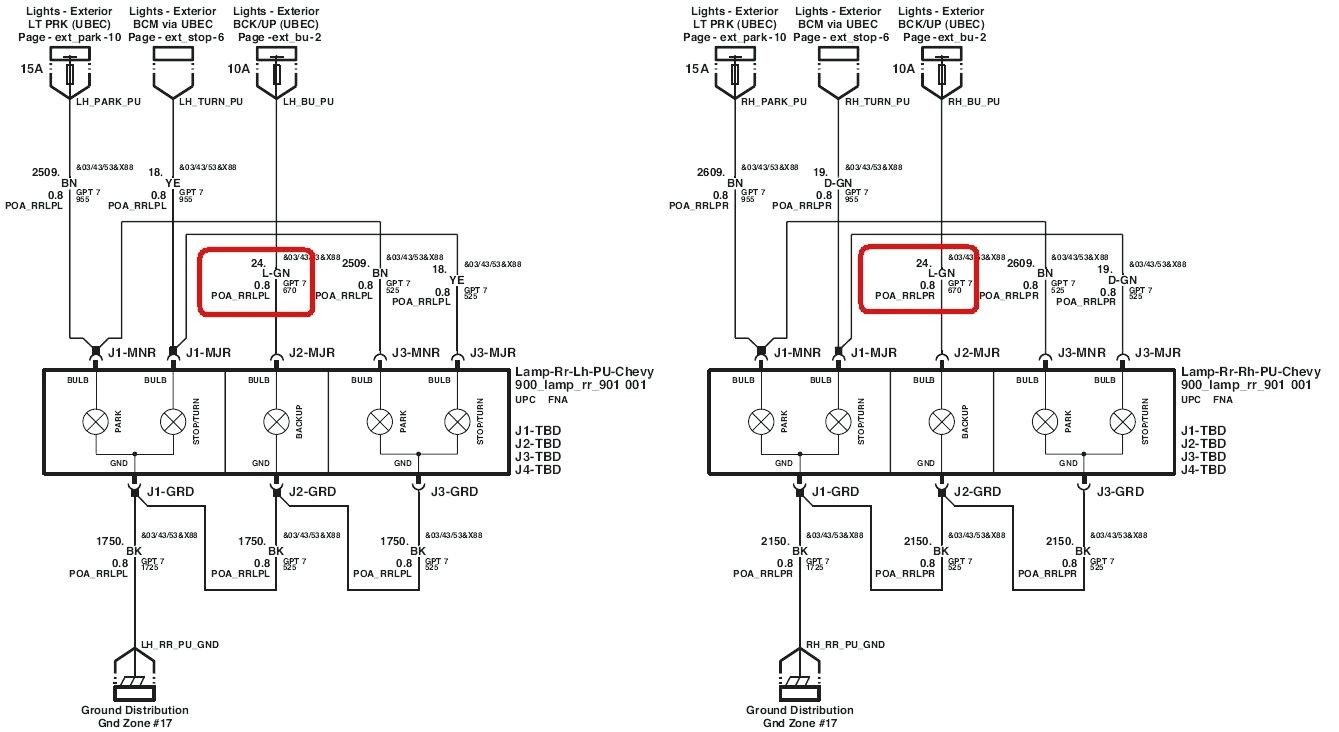 Chevy Venture Tail Light Wiring Harness - Wiring Diagram Data Oreo - Chevy Trailer Wiring Harness Diagram