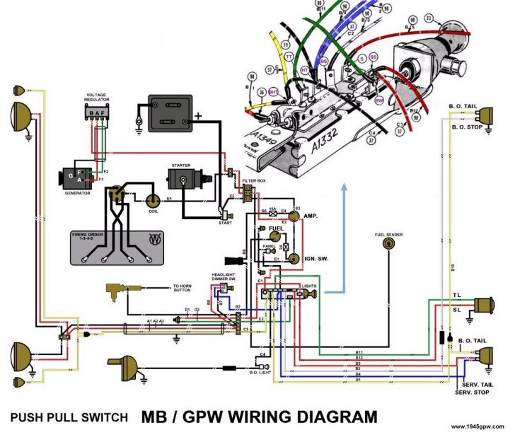 Admirable Jeep Willys Ke Diagram Basic Electronics Wiring Diagram Wiring Digital Resources Bemuashebarightsorg