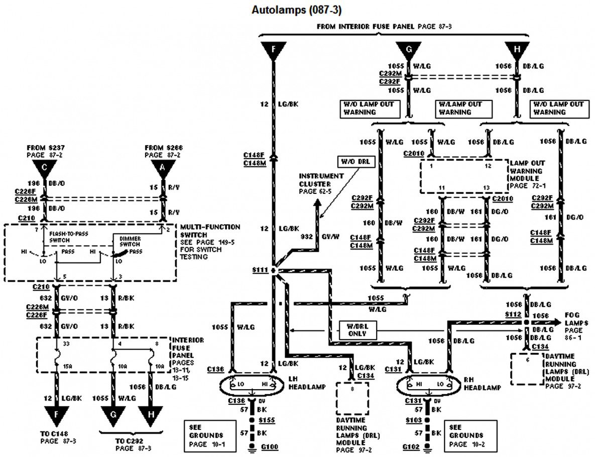 1997 f250 trailer wiring diagram