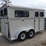 Collinarndt 2 Horse Bumper Pull W/ Dressing Room   The Hitch And Tow   C&c Horse Trailer Wiring Diagram